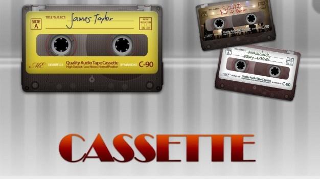 cassette psd file