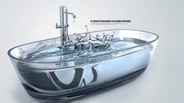 creative series of water psd layered material