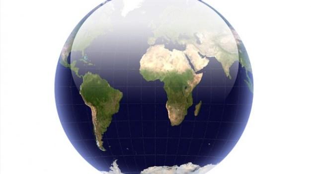 Crystal earth sphere PSD