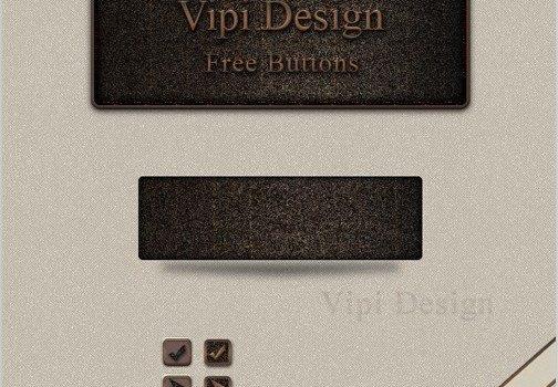 Delicate texture icon button