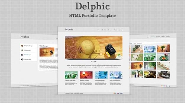 Delphic – HTML Template