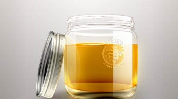 exquisite honey bottle   psd layered material