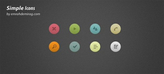 finely crafted web ui icons set psd