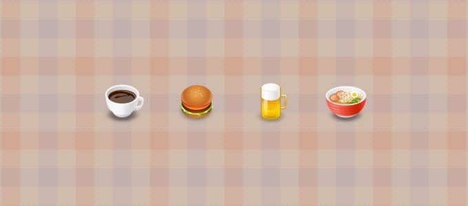 """Food and Drink"" Icons"