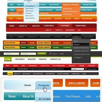 free custom navigation menu