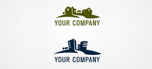 free real estate logo template