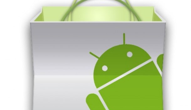 fresh android market bag icon psd