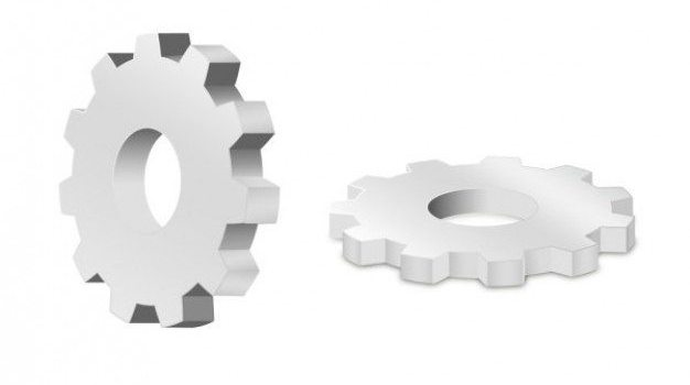 gears   psd layered material
