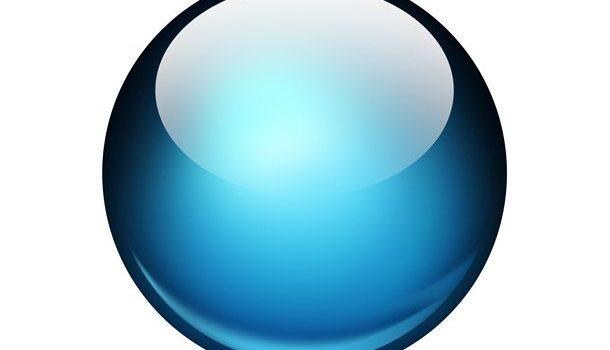 Glossy ball Photoshop icon