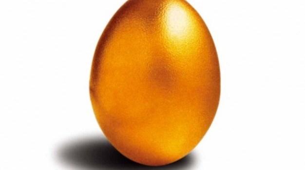 hd golden egg psd material