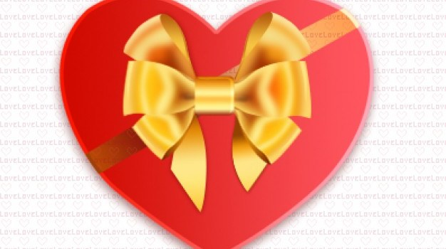 heart shaped box psd layered material