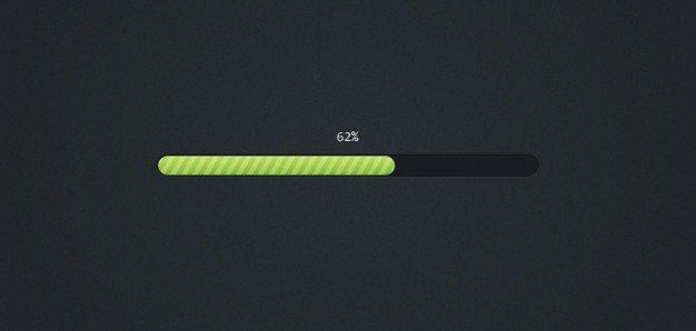 Pretty Little Progress Bar (PSD)