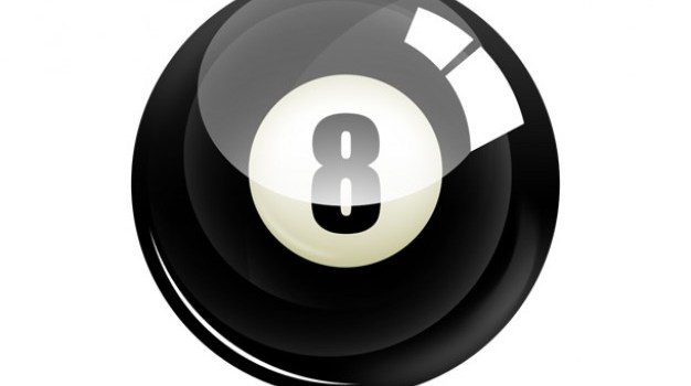 PSD eight ball icon