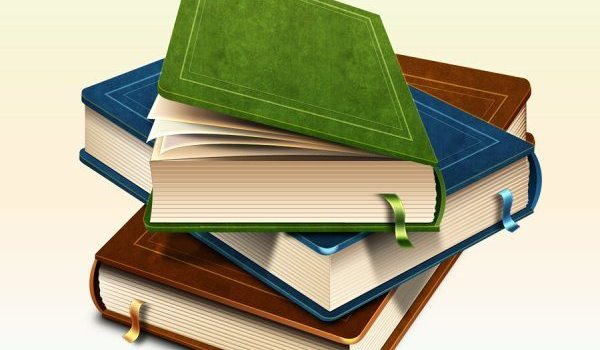 Realism books icon PSD