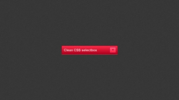 Red select box PSD material