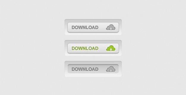 slick d inset download buttons psd