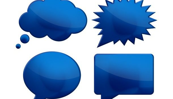 Speech bubbles (PSD)