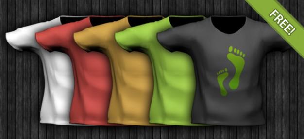 t shirtpsd layered material