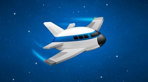 testflight app airplane psd