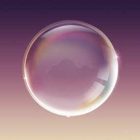 Transparent bubble