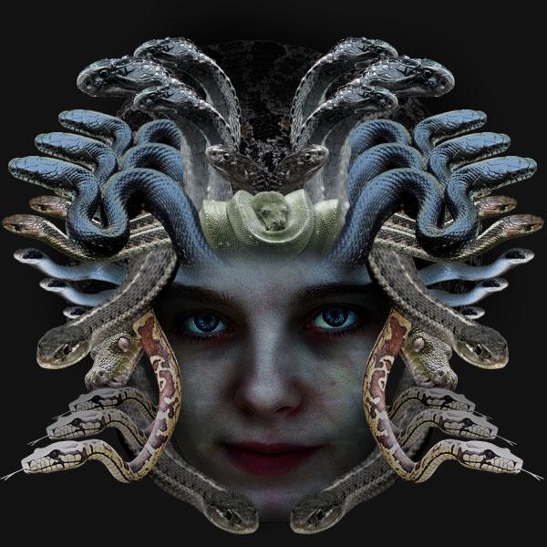 medusa15 Creating Medusa With Photo Manipulation