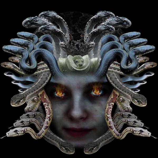 medusa18 Creating Medusa With Photo Manipulation