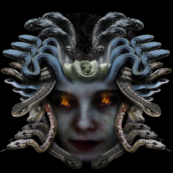 medusa20b Creating Medusa With Photo Manipulation