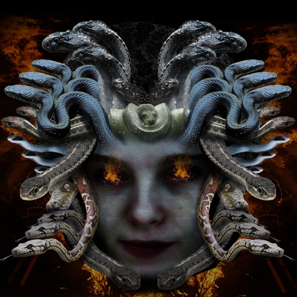 medusa21 Creating Medusa With Photo Manipulation