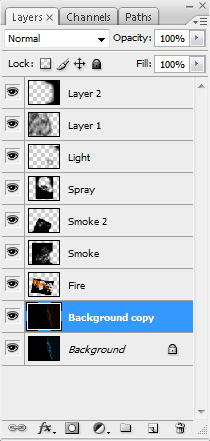 flam11a Create a Fiery Face Explosion