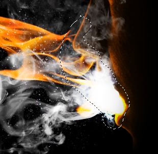 flam11b Create a Fiery Face Explosion