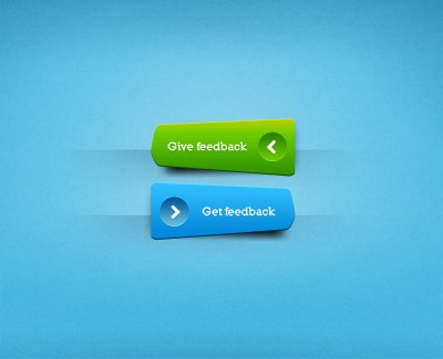 Feedback Button PSD