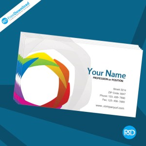 Free PSD Stylish Business Card