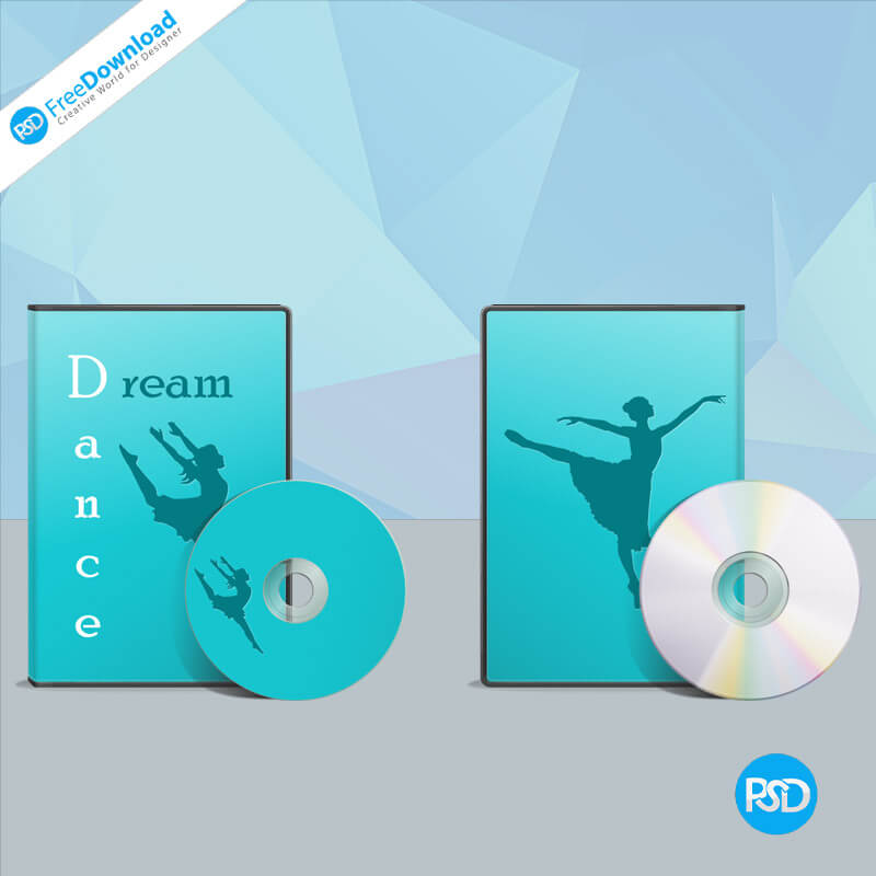 Music DVD Cover PSD Free