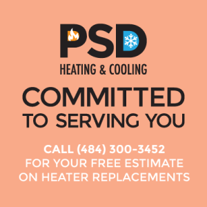 PSD Heating and Cooling, HVAC, HVAC Repair, HVAC Installation, HVAC Replacement, Furnace, Air Conditioner, Boiler