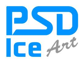 PSD ICE ART LOGO