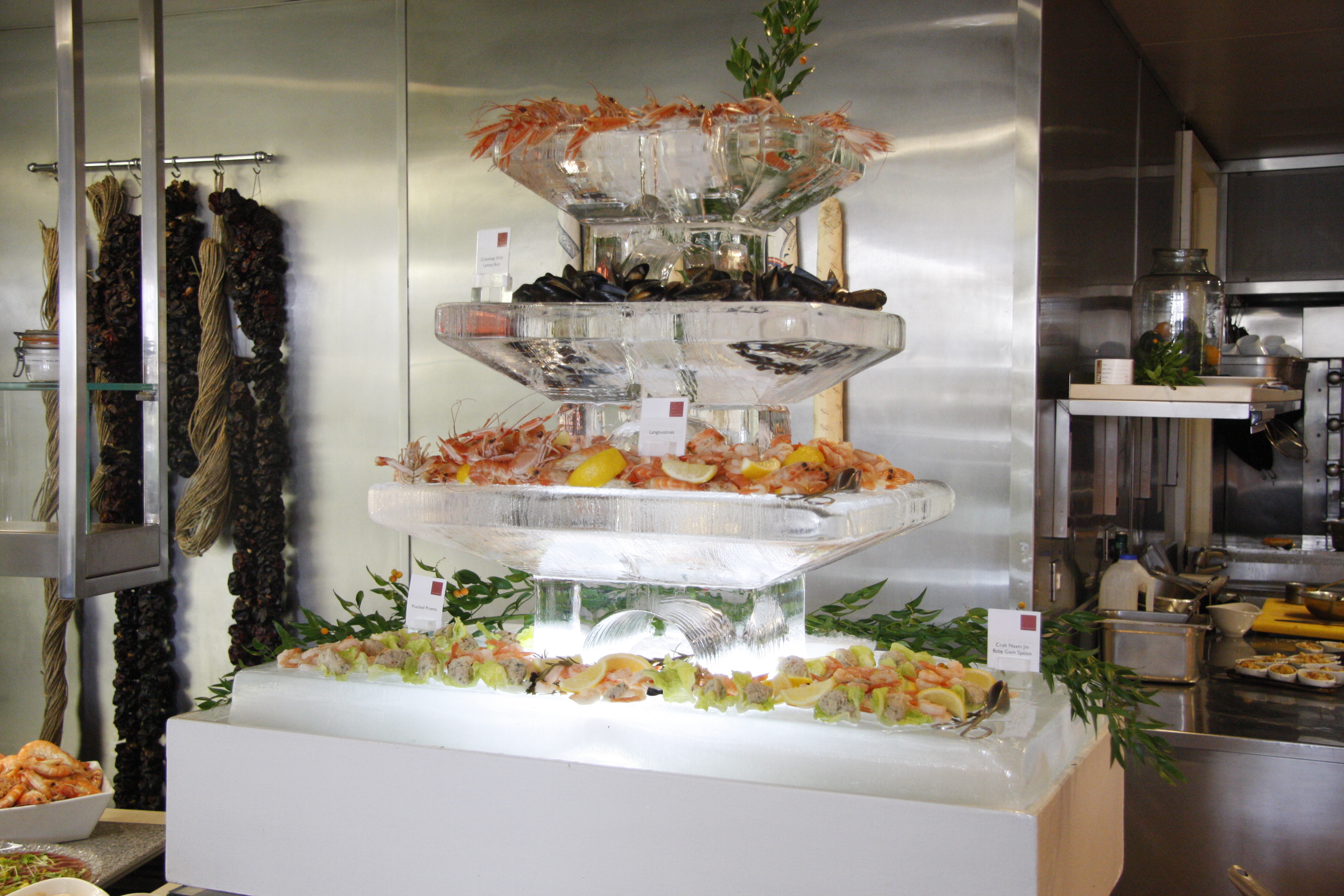 Tiered Seafood Bar