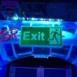 Belowzero Ice Bar London Bre-Exit Sign by PSD Ice Art