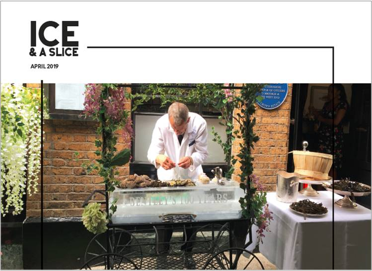 Front cover Ice and a slice April 2019