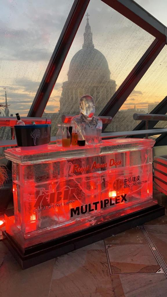 2m Ice Bar Royal Albert Dock Multiplex