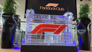 F1 ICE BAR AT THE BRITISH GRAND PRIX