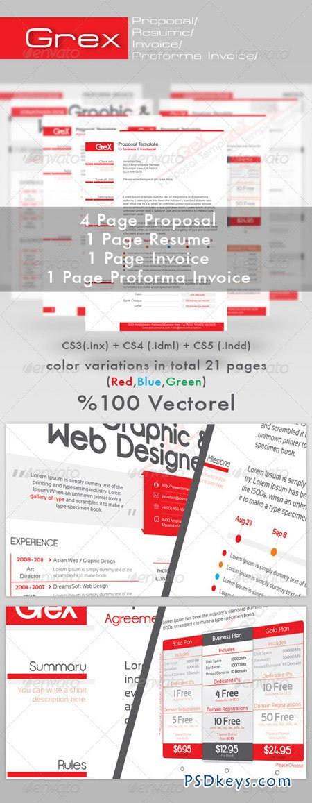 Invoice Proposal Template Operlyingfo