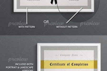 Multi Purpose Certificate Templates 2701      Free Download Photoshop     Multi Purpose Certificate Templates 2701