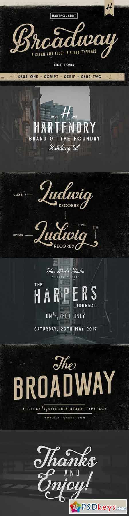 Download Broadway Font Pack 1518822 » Free Download Photoshop ...