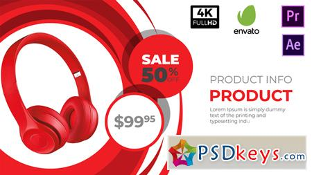 Sale Promo After Effects Template 21625535 Free Download
