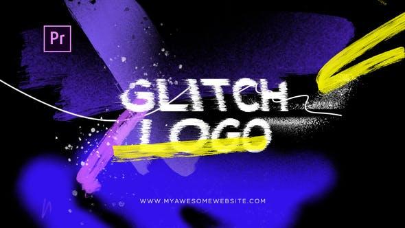 Videohive Glitch Grunge Distortion Logo Intro 29262752
