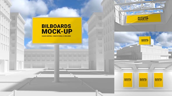 Videohive Outdoor Mockups 29479138