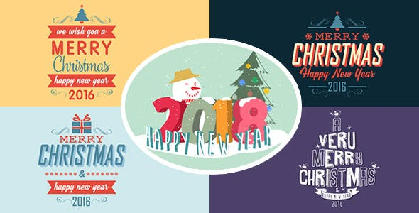 Videohive Christmas Titles 13707373