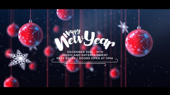 Videohive Christmas Party Invitation 25110465