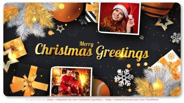 Videohive Christmas Greetings 29402779