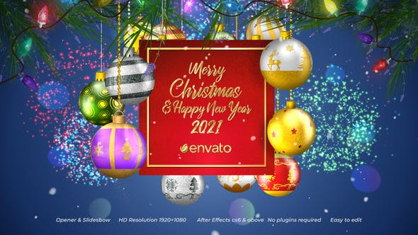 Videohive Christmas Opener Slideshow 29306175